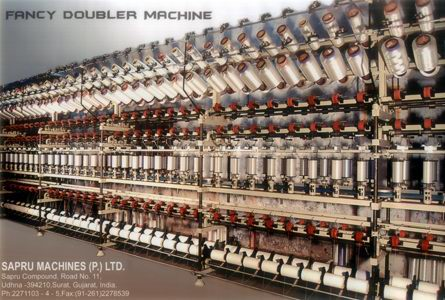 FANCY DOUBLER MACHINE
